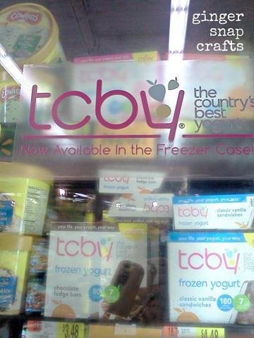 TCBY at Walmart