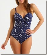 Lepel Spot One Piece Swimsuit