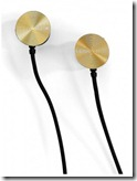 Nixon Gold Earbuds