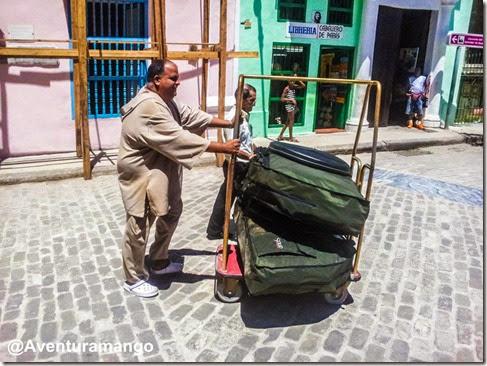 Nas ruas de Havana