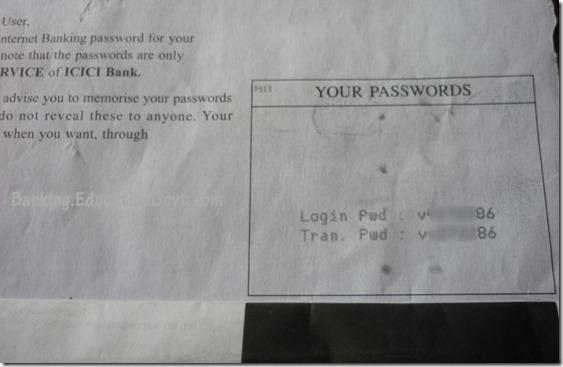 Icici bank forex login