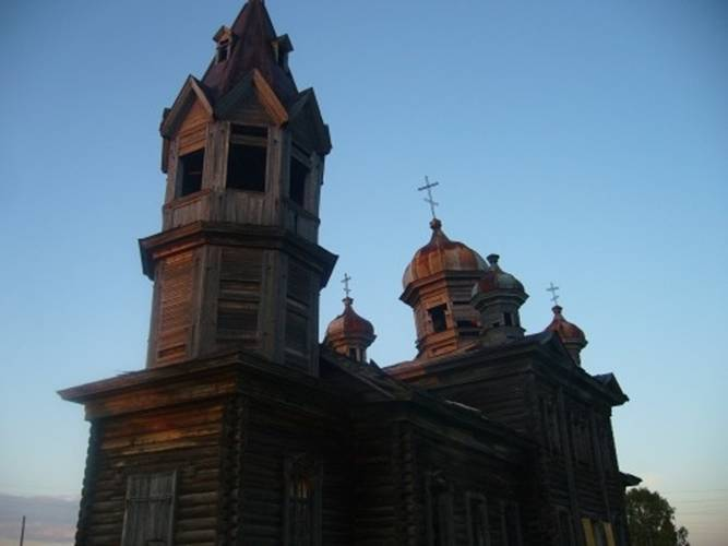 Wooden Church in Russia