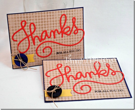 Pastor Appreciation cards by Tammy Hershberger
