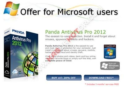 Download Panda Antivirus Pro 2012 – Lisensi Gratis 3 Bulan