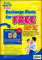 MamyPoko Exchange Pants for FREE Diapers Promotion 2013 Malaysia Deals Offer Shopping EverydayOnSales