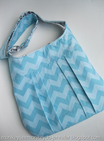 aqua chevron bag (15)