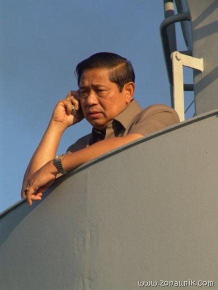 foto keseharian Presiden Indonesia Susilo Bambang Yudhoyono (5)