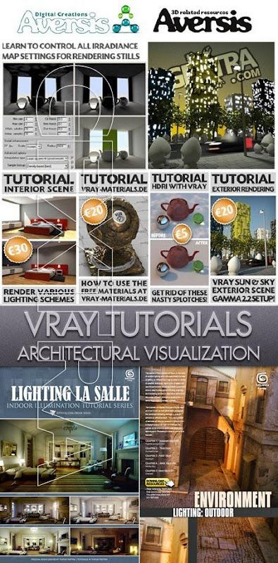 3dmaxstuff.com_Architectural Vray Rendering Tutorials