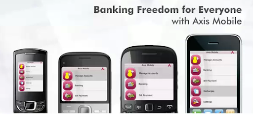 Axis Bank Mobile App for download