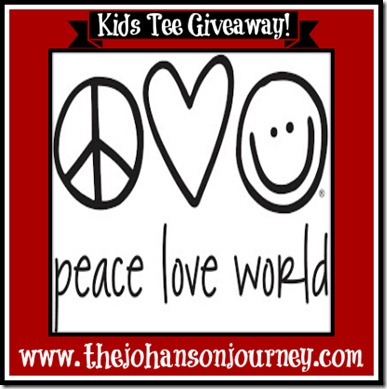 The Johanson Journey Peace Love World Giveaway