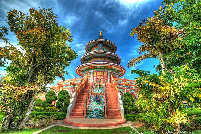 Temple Kanchanburi HDR 1