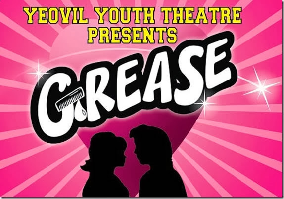 Poster of production of Grease by Yeovil Youth Theatre
