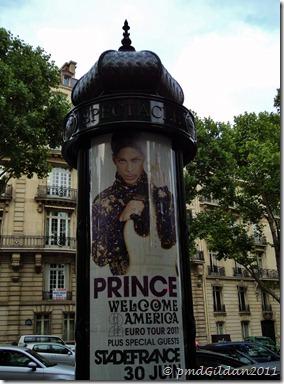Prince au SDF Juin 2011