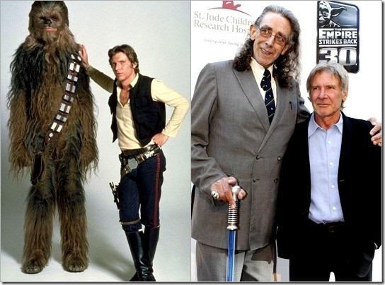 Chewbacca se reencuentra con Han Solo