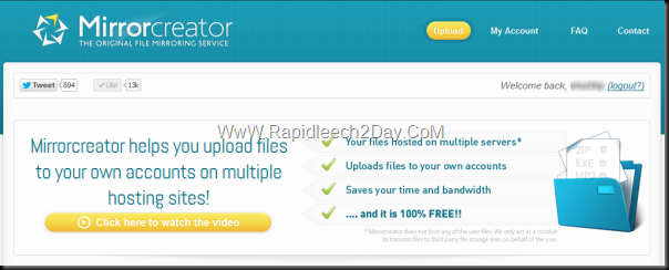 MirrorCreator-multiple-file-hosting-sites