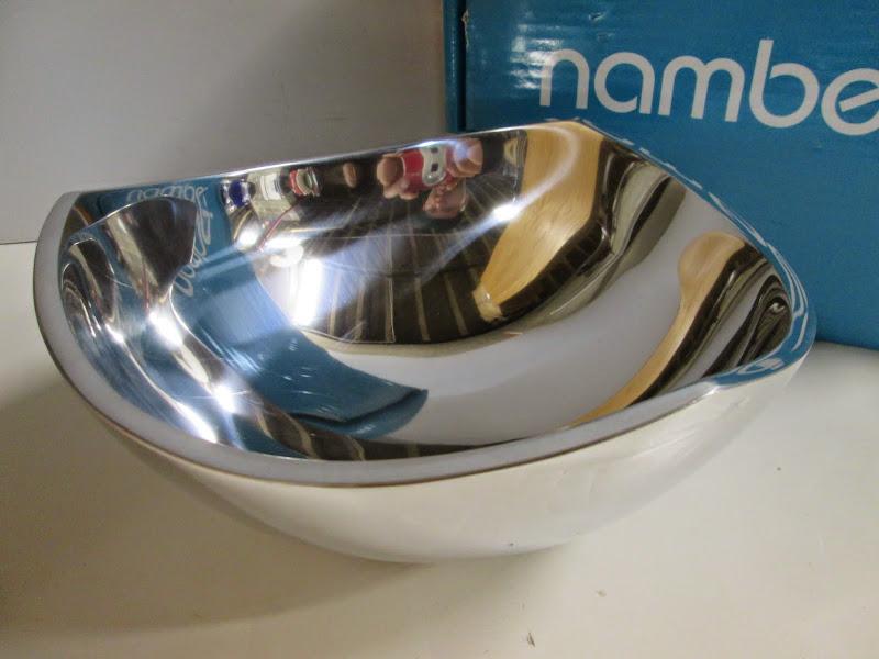 Nambe Tri-Corner Bowl 1