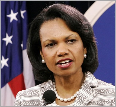 Condoleeza Rice, gap-tooth hag and former Secretary of State, was one of the architects of the Iraq War. CLICK to see where she and the rest of the gang are now.
