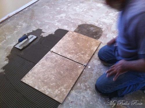 Fall Creek Suede Ceramic Tile