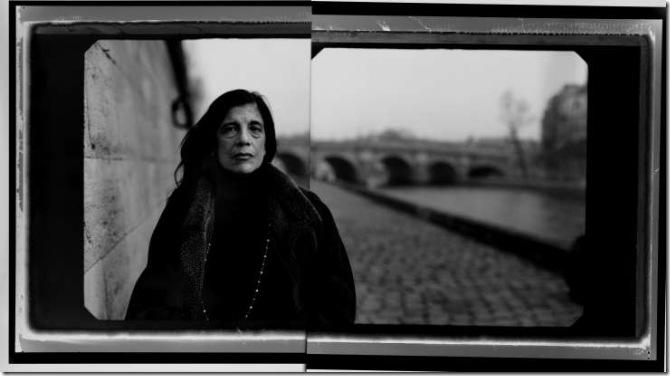 Susan Sontag, Quai des Grands Augustins, Paris, 2002