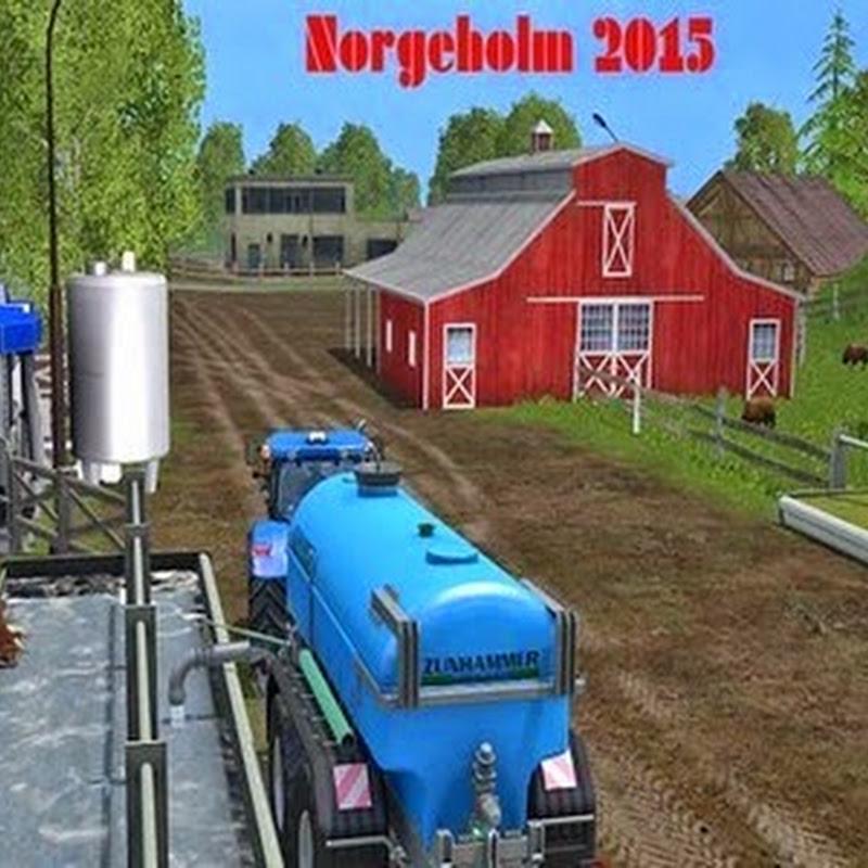 Farming simulator 2015 - Norge Holm v 2.1 Multifruit SoilMod