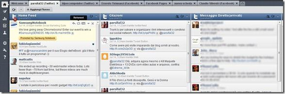 hootsuite gestione account twitter