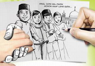 Kumpulan Sms Kata-kata Hari Raya Idul Fitri 1434 Hijriah