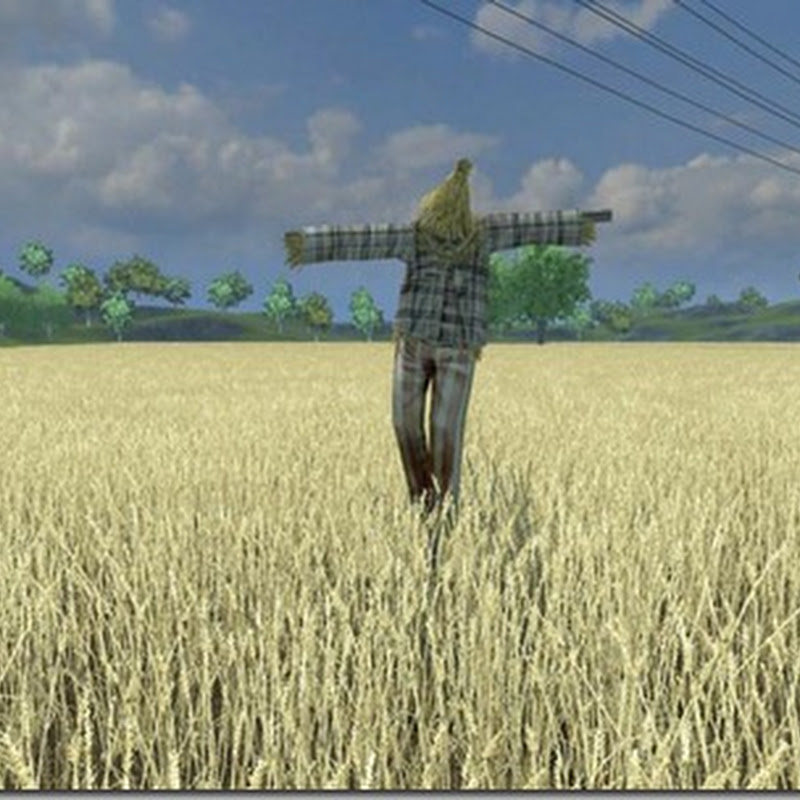 Farming simulator 2013 - Placeable scarecrow v 1.0 (Spaventapasseri)