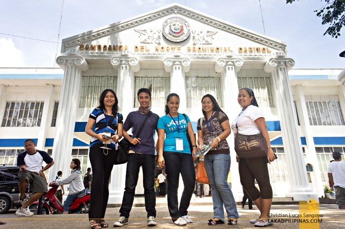 Travel Bloggers at Zamboanga del Norte Provincial Capitol
