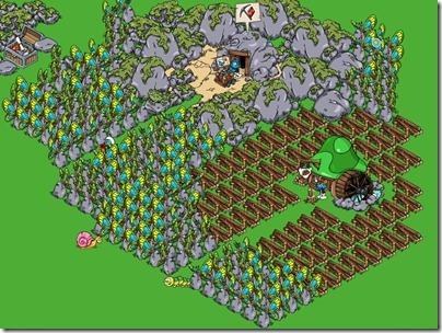 Butterfy Farm in my Smurfs' Village