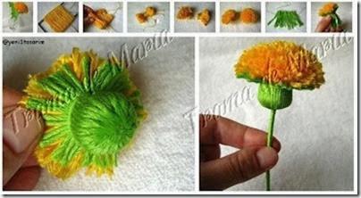 pap flor lã