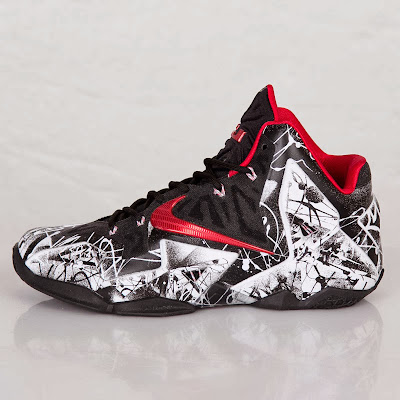 nike lebron 11 gr freegums graffiti 10 04 One More Look at the Just Released Graffiti Nike LeBron 11