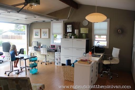 Office In Garage. Img_9409 Office In Garage