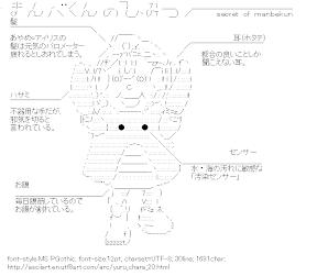 [AA]Manbe-kun (Yuru-chara)