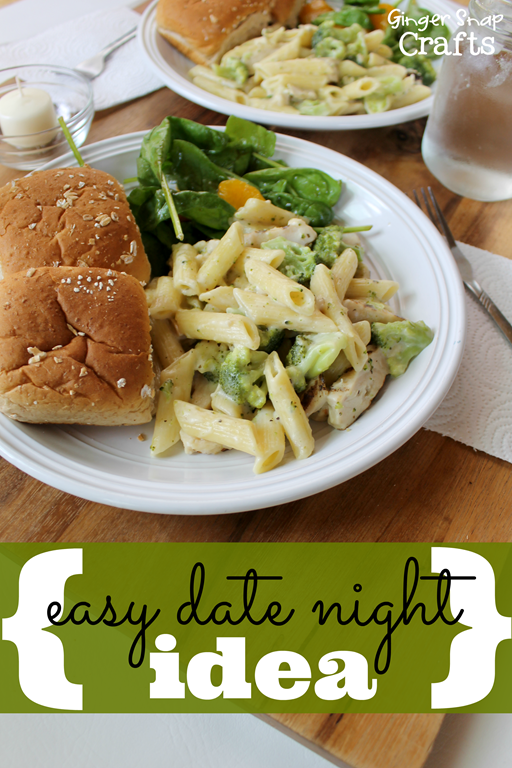 easy date idea #gingersnapcrafts #Dinner4Two #shop #cbias