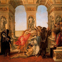 56 - Botticelli - La calumnia de Apeles