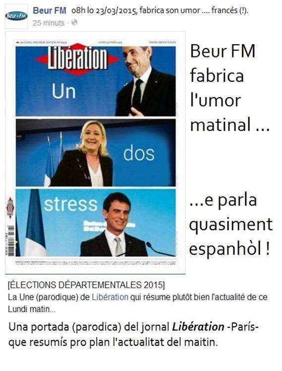 umor parisenc Beur FN eleccions departamentalas 2015