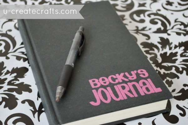 Personalized Canvas Journal Tutorial 