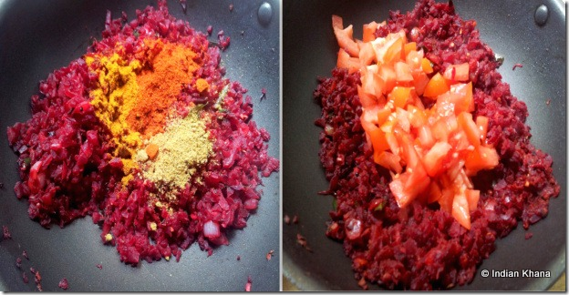 Easy beetroot masala recipe