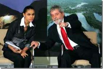 Marina e Lula cooptados pelas elites