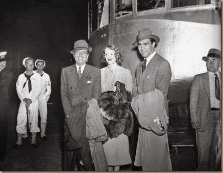 Douglas and Sylvia Fairbanks with Max Schmeling