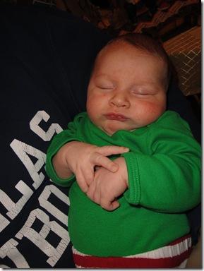 5.  Knox sleeping