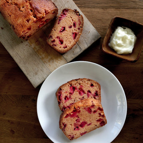 Simple Strawberry (or Any Berry, Really) Bread {recipe}
