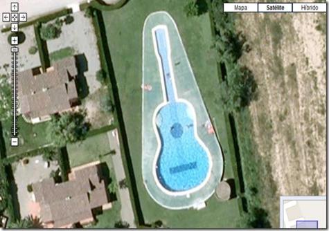 Fotografías curiosas tomadas en Google Earth o Maps