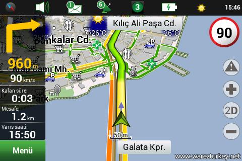 Navitel Navigator v9.1.0.0 T�rk�e Full - Android indir