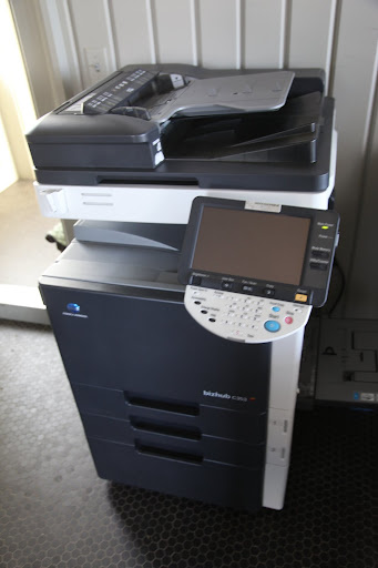 Oh my, Sharkey!  This is quite a large copy machine.