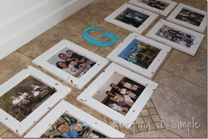 DIY Gallery Wall With Old Family Pictures (10)