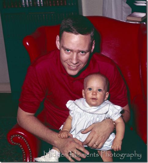 1960 Fall #73 Nov DSA and Deb red chair