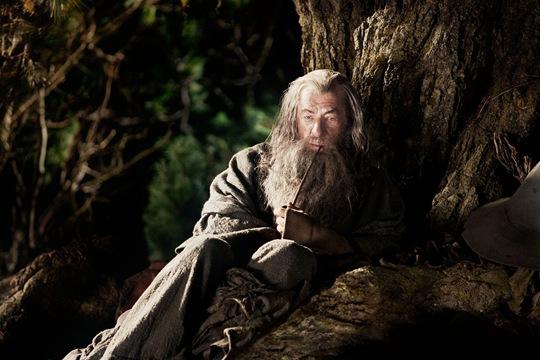 Gandalf i trädet