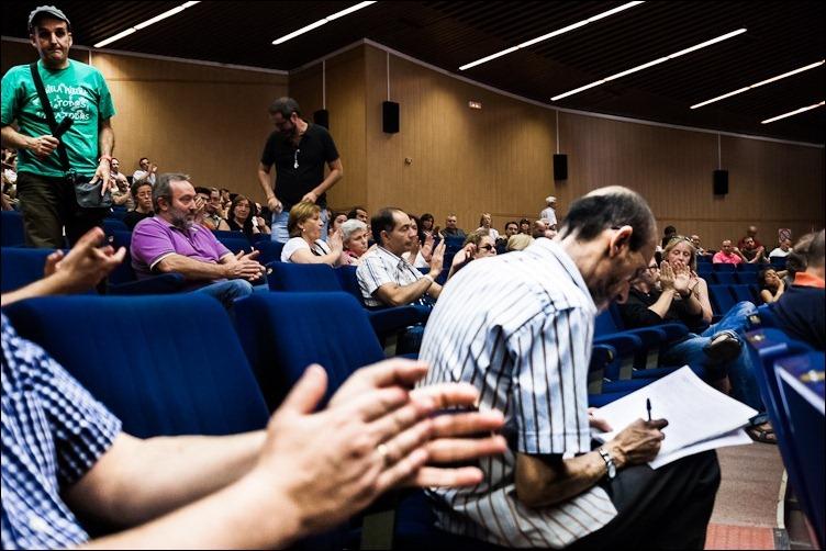 20/09/2012 -- Primera Asamblea UGR: se reúnen los tres sectores de la Universidad: los alumnos, el Personal Docente e Investigador y el Personal de Administración y Servicios