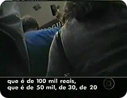 A câmera escondida da Globo em 2009 (Foto: Reprodução de TV)